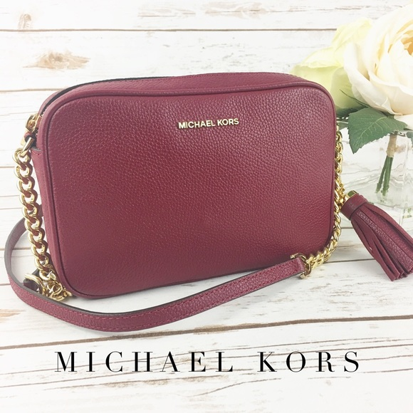 2e7211276ec Michael Kors Bags | Nwt Ginny Medium Camera Bag Crossbody | Poshmark